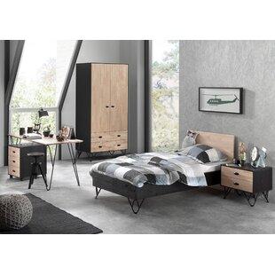 Elder 5 Piece European Single Bedroom Set By Isabelle & Max