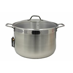 Bekker Stainless Steel Stock Pot with Lid