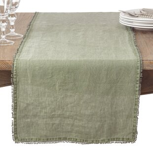 Isaure Country Linen Table Runner