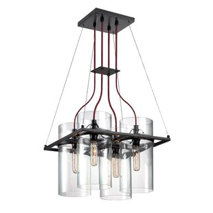 Williston Forge Wadhurst 4-Light Kitchen Island Pendant