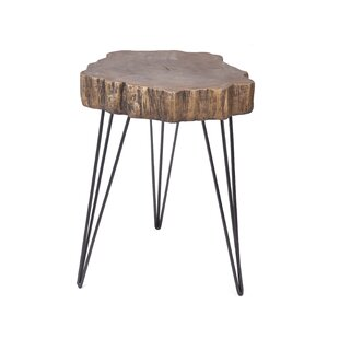 Union Rustic Rosalba End Table
