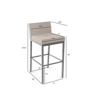 Fairfield 26 Bar Stool Amisco