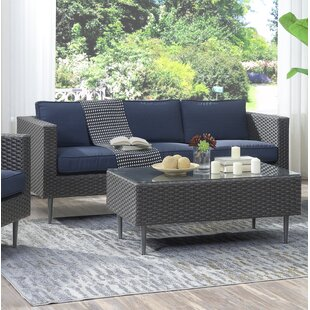 Kyle 2 Piece Sofa Set with Cushions