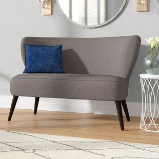Bargain Bayonne Armless Settee by Langley Street Reviews (2019) & Buyer's Guide