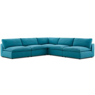 Coats Overstuffed Modular Sectional
