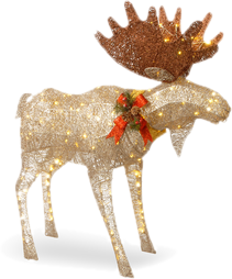 animal reindeer outdoor christmas decorations - Animal Christmas Decorations
