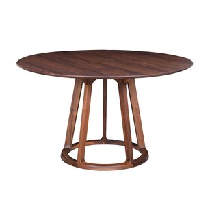 Mercury Row Liddle Solid Wood Dining Table