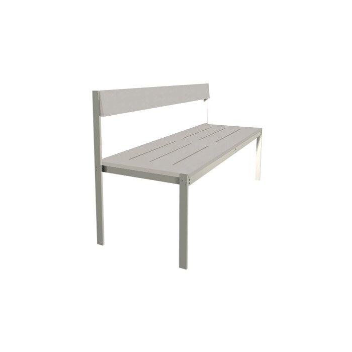 Enjoyable Luma Aluminum Park Bench Ibusinesslaw Wood Chair Design Ideas Ibusinesslaworg