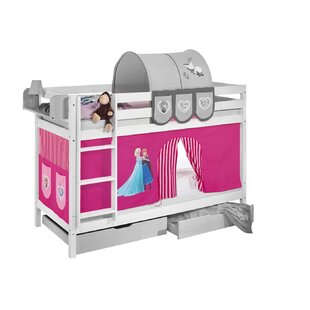 Disney's Frozen Bunk Bed With Curtain By Frozen