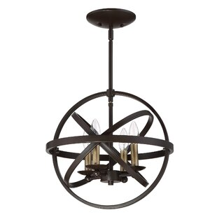 Ingalls Western bronze 4-Light Semi Flush Mount by Laurel Foundry Modern Farmhouse
