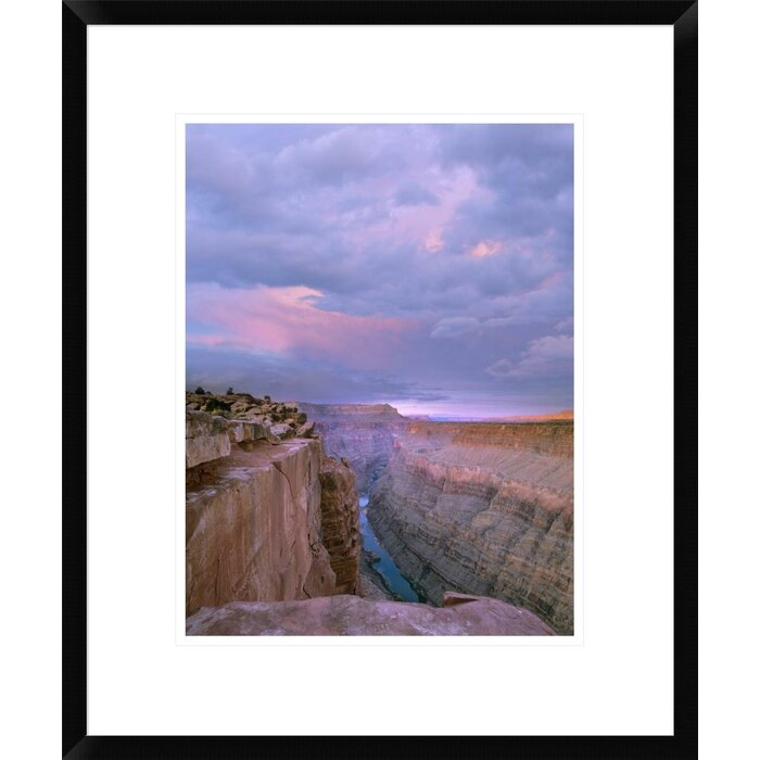 Toroweap Overlook, Grand Canyon National Park, Arizona by Tim Fitzharris  Framed Photographic Print