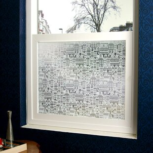 Little City Privacy Window Film by Stick Pretty