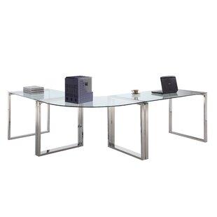 Orren Ellis Darleene L-Shape Computer Desk