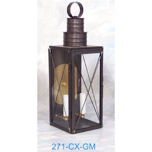 Best Price 200 Series 2-Light Outdoor Wall Lantern By Brass Traditions