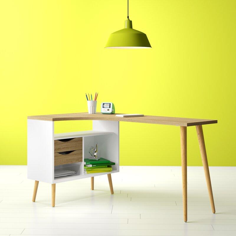 Hashtag Home Dowler L Shape Desks