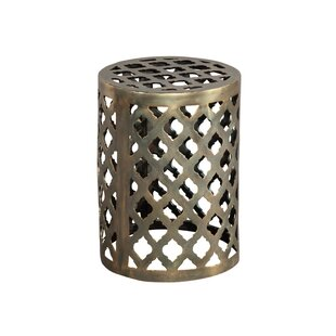 World Menagerie Paez Brass Garden Stool
