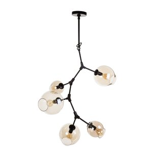 Galla Home Javier 5-Light Sputnik Chandelier