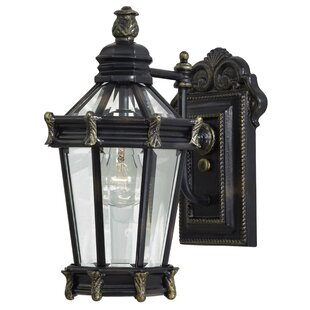 Read Reviews Stratford Hall 1-Light Outdoor Wall Lantern By Great Outdoors by Minka