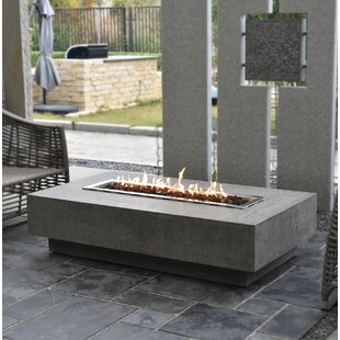 Tomas Concrete Propane Fire Pit Table By Sol 72 Outdoor