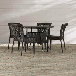 Highland Dunes Mireia 5 Piece Dining Set