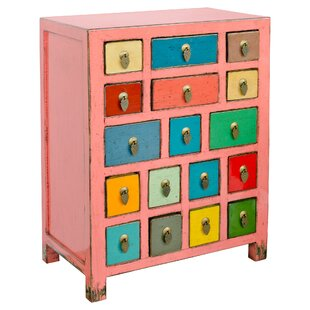 Ansel 17 Drawer Chest By World Menagerie