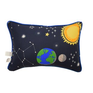 Space Adventure Oblong Lumbar Pillow