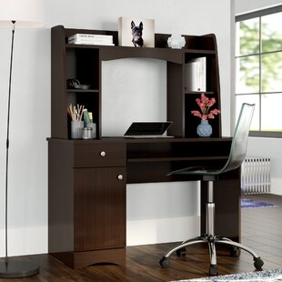 Byron Computer Desk With Hutch by Ebern Designs Best Choices