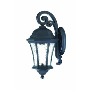 Affordable Prestbury 1-Light Outdoor Wall Lantern By Charlton Home