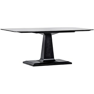 Noir Amboss Metal Dining Table