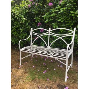 Claar Metal Bench By Lily Manor
