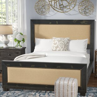 Castagnier Upholstered Panel Bed by Greyleigh
