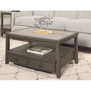 Dunhill Coffee Table with Storage by Breakwater Bay