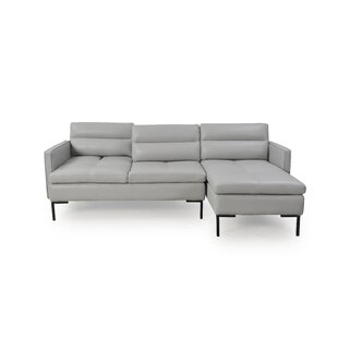 Stoddard Leather Sectional