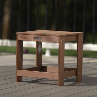 Plastic Side Table By Lifetime