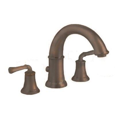 Portsmouth Double Handle Deck Mount Roman Tub Faucet Lever Handle American Standard Color: Oil Rubbed Bronze