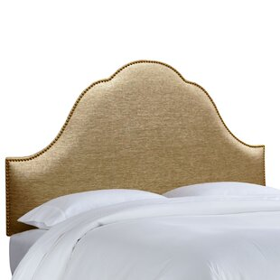 House of Hampton Brighton Nail Button Upholstered Panel Headboard
