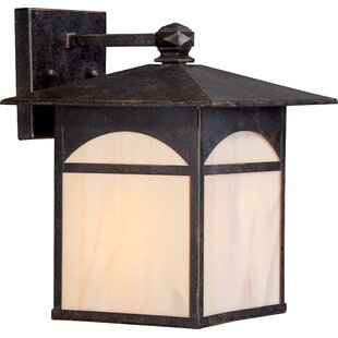 Loon Peak Dissinger 1-Light Outdoor Wall Lantern