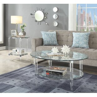 Bargain Salter 2 Piece Coffee Table Set By Everly Quinn