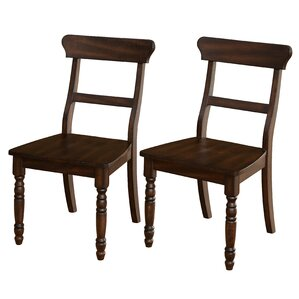 Orrin Solid Wood Dining Chair (Set of 2) ..