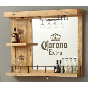 ECI Furniture Corona Wall Bar with Wine Storage