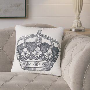 Vicenta Crown Throw Pillow