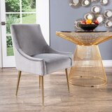 Zahra Upholstered Dining Chair by Ivy Bronx