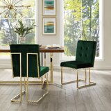Bellamy Upholstered Dining Chair (Set of 2) by Everly Quinn