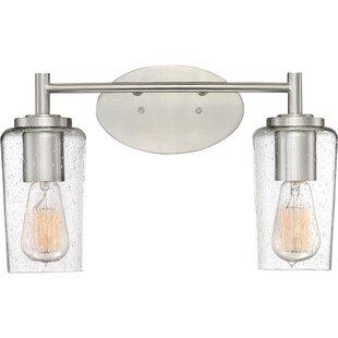 Compare Ellenton 2-Light Vanity Light By Latitude Run