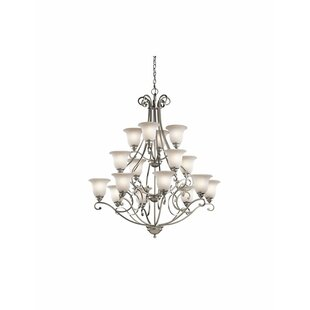 Alcott Hill Haffenreffer 16-Light Shaded Chandelier