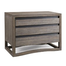 Dalton 3 Drawer Nightstand by Brownstone Furniture