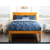 Tollison King Solid Wood Platform Bed by Charlton Home®