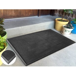 Rubber Stud Doormat by Elite Home Collection