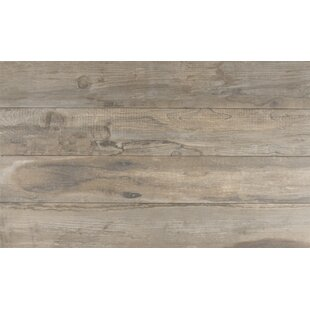 Salvage 6 X 40 Porcelain Wood Tile In Glazed Musk