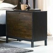 Latitude Run Kolton 2 Drawer Nightstand
